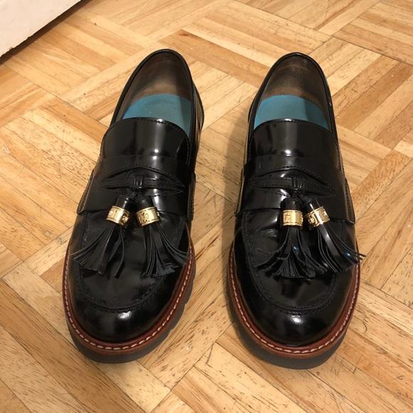ab3fe8c9310 Stuart Weitzman Black Manila Loafer 6.5W. M 5a8e147e45b30c610b35a5ba